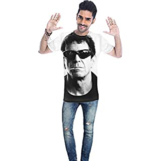 The Velvet Underground Lou Reed Portrait Unisex T-shirt Medium
