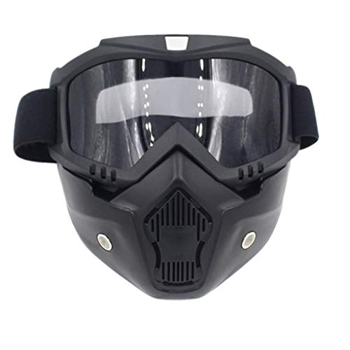 Off-objektiv (Censhaorme Männer Frauen Motorrad-Schutzbrille Helm Maskenplatte Objektiv Otdoor Reitglas Off-Road-Maske Windschutzscheibe)