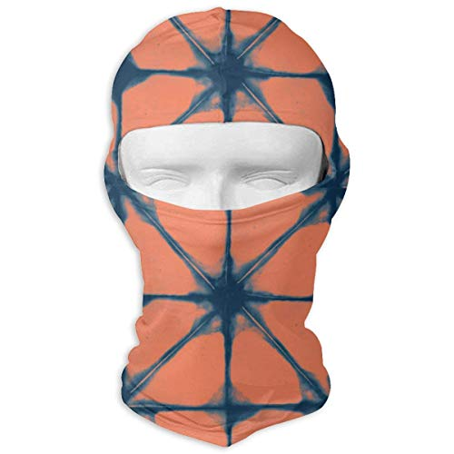 Womens Coral Reef (Sdltkhy Orange Star Coral Reef Men Women Balaclava Neck Hood Full Face Mask Hat Sunscreen Windproof Breathable Quick Drying Design12)