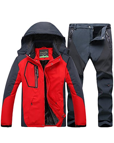 Qitun Hombre Trekking Impermeable Deportivos Transpirable