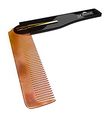 Sir Reginalds Compact Foldable Comb for Moustache and Beard1 Units