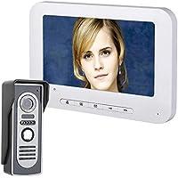 sprintrase Visiophone interphone visuel Audio bidirectionnel sy818 m11, 7  Pouces pré câblée vidéo Door Phone 7c5e9ac4f0ee