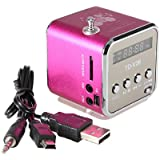Mini TF Altavoz estéreo USB Radio FM Music Player para PC MP3 iPhone 5S 5C SAMSUNG