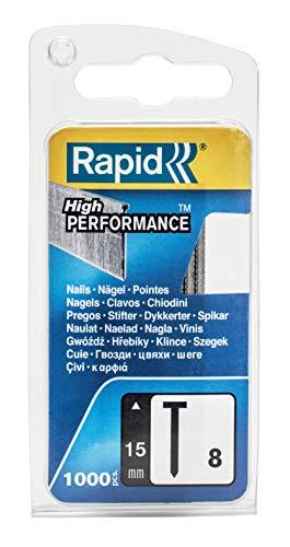 Rapid, 40109533, Pointes N°8, 15mm de longueur, 1000 pièces,...