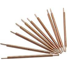 Huanyu - Varillas de soldadura de doble cabeza de cobre para soldadura de puntos (3