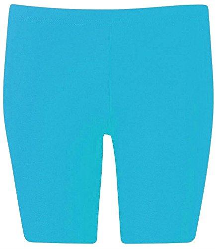 The Home of Fashion - Short de sport - Femme Multicolore Bigarré Turquoise
