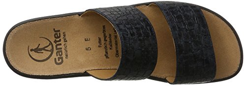 Ganter Damen Sonnica-E Pantoletten Blau (Navy)