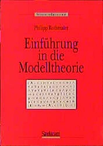 Einführung in die Modelltheorie