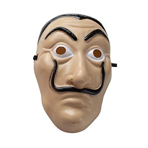 Unisex Haus des Geldes Bankräuber Kostüm Cosplay La Casa De Papel Rot Overall Für Make Up Party Maske