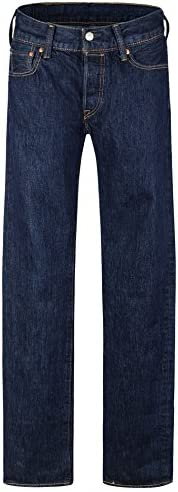 Levi's Men's 501® Original Fit Jeans, Color: Black, Size: