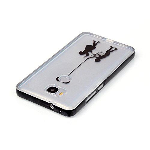 Voguecase® Pour Apple iPhone 6 Plus/6S Plus 5.5, 2 in 1 Hybride Flash Coque Au Cas De Appels Entrant LED Transparent Soft TPU Hard PC Etui Case Cover(pommetier 01)+ Gratuit stylet l'écran aléatoire un Les jeunes amoureux 07