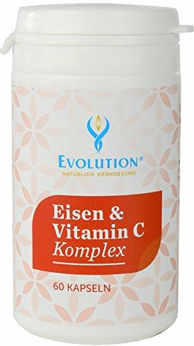 Evolution Eisen & Vitamin C Kapseln 60St.