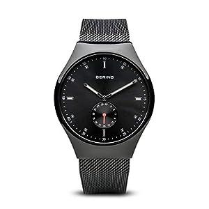 Bering tiempo 70142–222Hombres Smart viajero colección reloj con