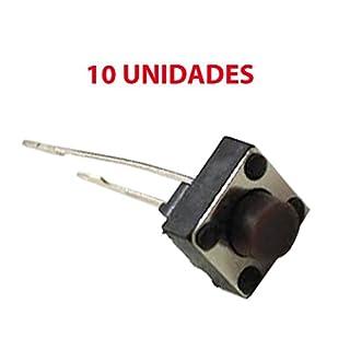 10x Micro Taster Schalter Switch 6x 6x 5mm PCB Arduino 2-polig lange