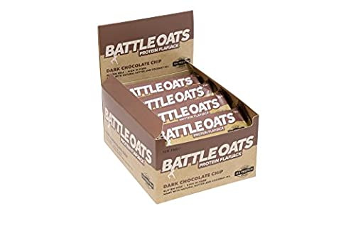 Battle Oats Sans gluten Protéine Barre 12 x 70g Dark Choc Chip