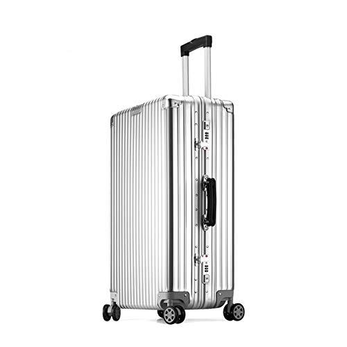 Qzny Koffer, Trolley Reisetasche Laptoptasche Unisex Handtasche Wasserdicht Durable Ultraleicht Große Kapazität Business Cabin Case (Farbe : EIN, Größe : 70 * 48 * 27cm)
