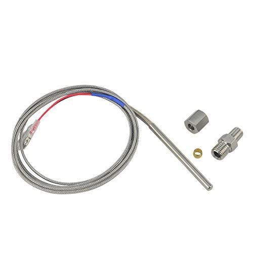 Preisvergleich Produktbild SODIAL für Abgase Temperatur Sensor Typ Egt K Thermoelement Fühler Abgase Temperatur Sensor Gewinde Abgas Temperatur Sensor