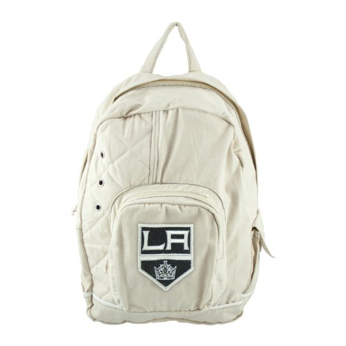 nhl-los-angeles-kings-old-school-backpack-brown