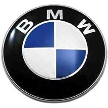 BMW Logotipo para volante con emblema de BMW, 45mm, color azul