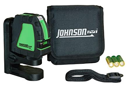 Johnson Level & Tool 40-6656 Self-Leveling Cross-Line Laser Green Beam by Johnson Level & Tool