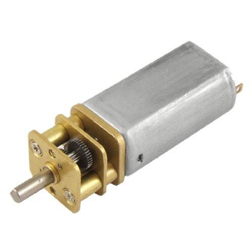 DealMux DC 12V 0,02A 20rpm High Torque Geschwindigkeitsreduzierung Getriebe-Motor für DIY