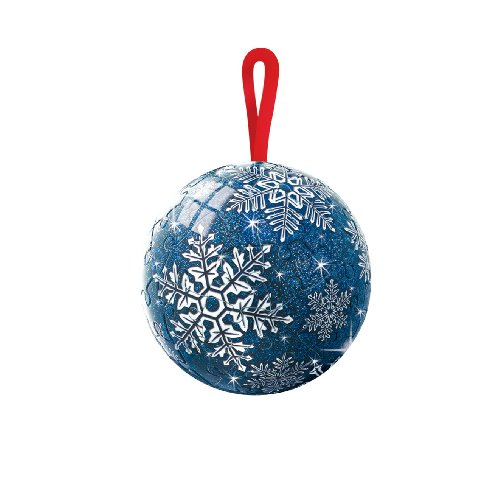 Ravensburger 09710 - Christmas Glitzer 60 Teile Puzzleball