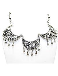 Muccasacra Trendy Hot Selling Afghani N Kashmiri Jewel Set Length 9.5 Inch