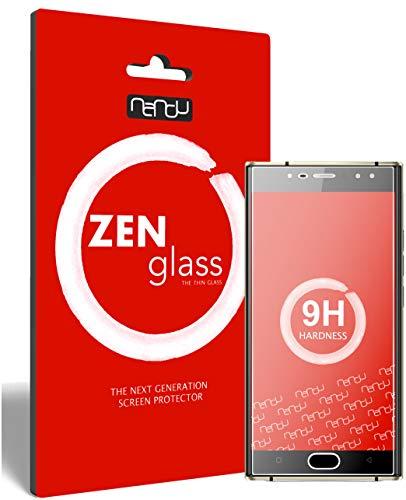 ZenGlass Flexible Glas-Folie für Oukitel K3 Panzerfolie I Bildschirm-Schutzfolie 9H I (Kleiner Als Das Gewölbte Bildschirm)