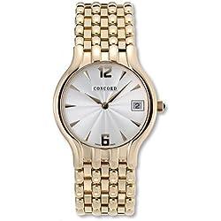 Concord Men's Quartz Watch 0311306 with Metal Strap