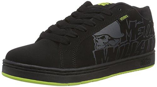Etnies METAL MULISHA FADER, Chaussures de Skateboard homme Noir (Black Black 003)