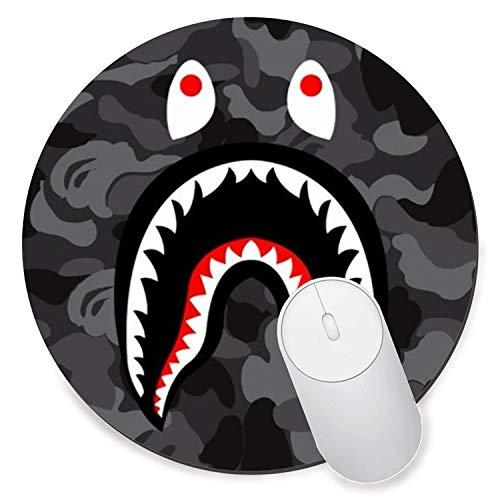 e5424a9ceb1e LOONY Mouse Mat Pad-bape shark LOGO Gift PC Computer