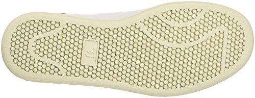 Trussardi Jeans by Trussardi 79s26351, Pompes à Plateforme Plate Femme Blanc