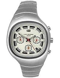 Reloj NIKE hombre WR0074–002al cuarzo (batería) acero quandrante blanco correa acero