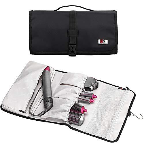 KEESIN Tragbar Reisetasche Speicherorganisator Hülle für Dyson Airwrap Styler und Zubehör