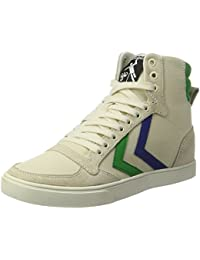Unisex Adults Sl. Stadil Duo Canvas High Hi-Top Sneakers, Multicoloured Hummel