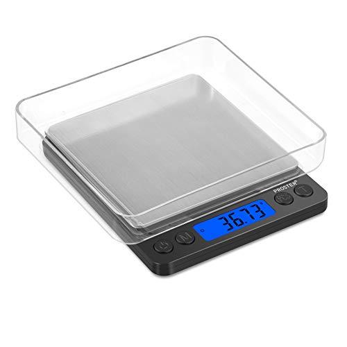Proster Mini Escala Digital Bolsillo 0.01-500g Escala