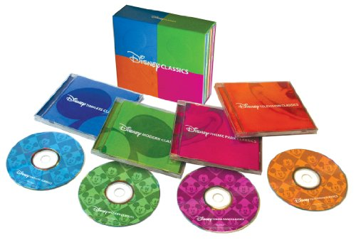 Disney Classics 4-CD Box-Set - Cd Classics Disney