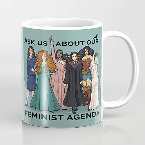 ZIQIZIYU Taza de café feminista