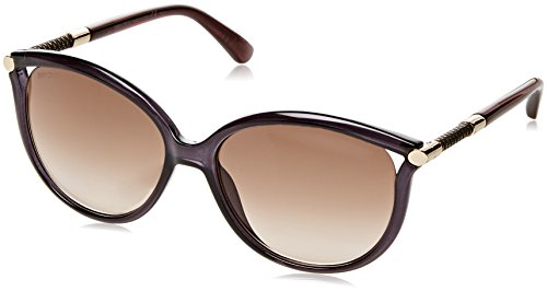Jimmy Choo Damen GIORGY/S JD QCN 57 Sonnenbrille, Grau (Grey/Brown Sf),