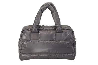 LadiesHandbags - Elysea - 100% Quilted fabric - Bambi - Gray