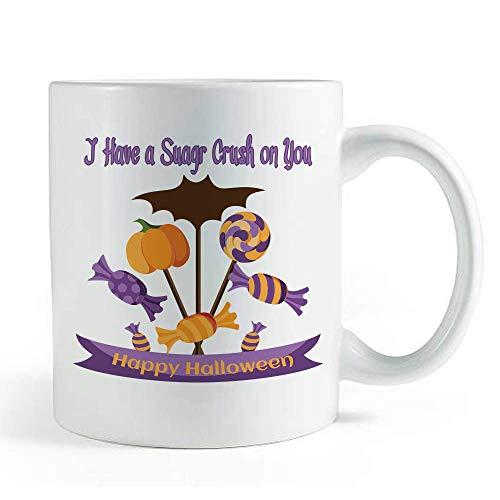 I Have a Sugar Crush On You Halloween-Zitat - Kaffee und Tee Tasse