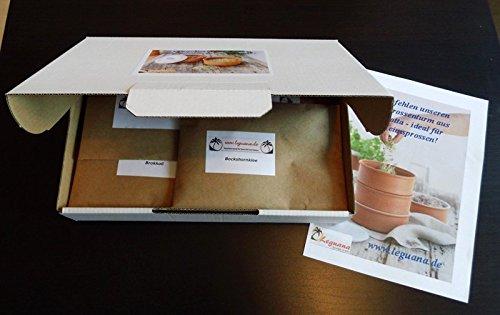 BIO Keimsprossen in Geschenkbox, 10 Sorten - perfekt für die Küche oder Präsent