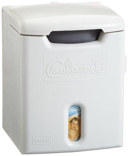 Cleansation Befeuchtungssystem für Pflegetücher inkl. Babypflegemilch - grau