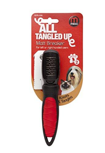 Mikki Cepillo para la eliminación de nudos y enredos del pelaje de...