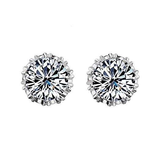 Preisvergleich Produktbild Damen Ohrringe Schmuck Ohrstecker stecker DAY.LIN Einfache Mode Diamant Ohrstecker Ohrringe Frauen Schmuck (A)