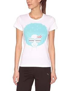 PUMA style t-shirt afro XXL Blanc - Blanc