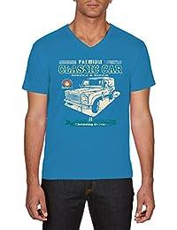Touchlines Herren T-Shirt Classic Car Landi Defender Youngtimer