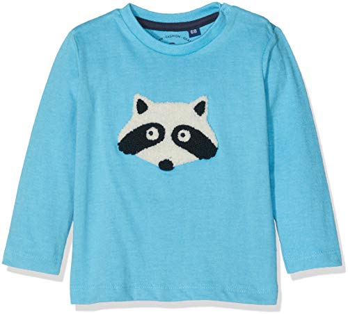 TOM TAILOR Kids Baby-Jungen Langarmshirt T-Shirts 1/1, Blau (Norse Blue 3059), 68