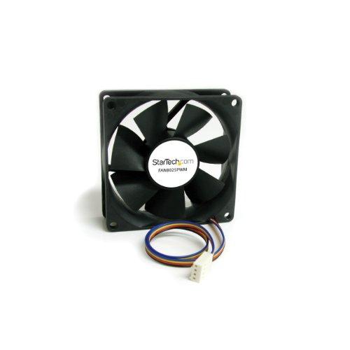 StarTech.com FAN8025PWM Ventilateur d'Ordinateur 80 mm avec PMW Connecteur à Modulation d'Impulsion en Durée 1x Molex Fan Femelle