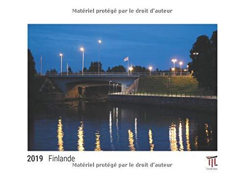 Finlande 2019 édition blanche calendrier mural timokrates calendrier photo calen